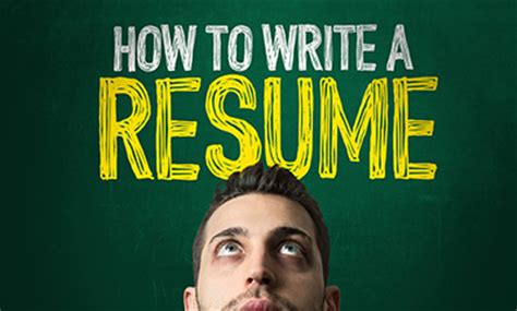 How to write resume latter